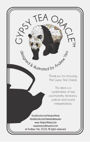 Gypsy Tea Oracle intro page