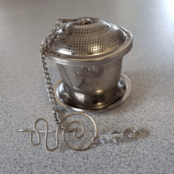 flourite intention tea infuser Twisted by mish