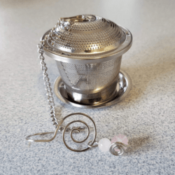 rose intention tea infuser Twisted by mish