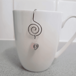rose quatrz intention tea infuser Twisted by mish