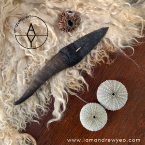 The Goat Horn Ritual Blade / Athame